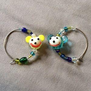 Jewelry - DIY Kawaii Hoop Earrings